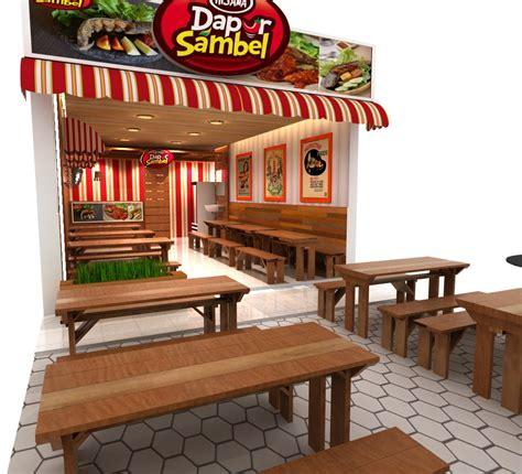 design etalase warung makan sribu desain booth desain outlet untuk rumah makan quot dapu