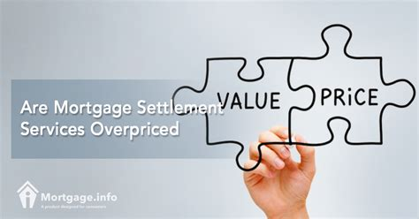 Are Mortgage Settlement Services Overpriced   Mortgage.info