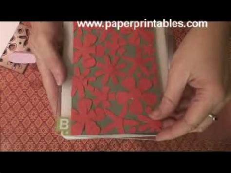 How To Make Embossed Paper - how to make your own paper embossing folders tutorial