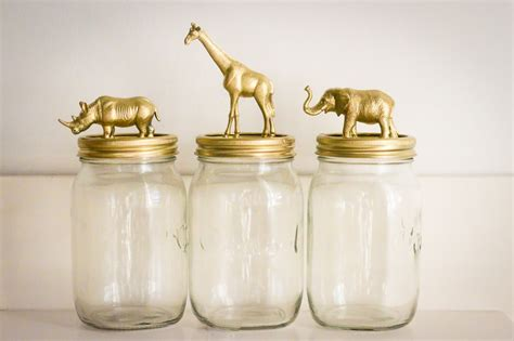 cute diy animal jars perfect to organize a children s decorating with mason jars 10 amazing diy crafts you can