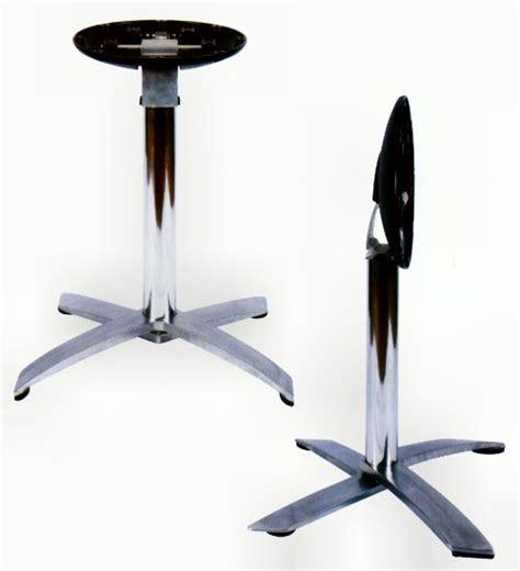 folding aluminum table base