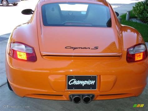 porsche cayman orange 2008 orange porsche cayman s sport 15455030 photo 3