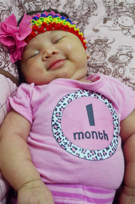 1 Month Baby Celebration - 1 month photo ideas collections photo and