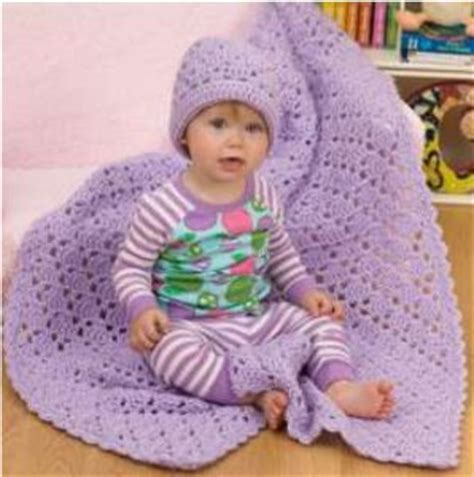 pering gift set red heart yarns free patterns pinterest one ball baby blanket and hat allfreecrochet com