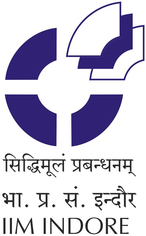Certificate Template file iim indore logo svg wikimedia commons