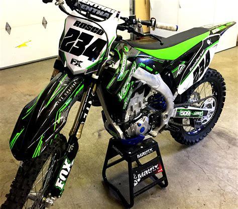 custom motocross bikes kawasaki kxf custom dirt bike graphics image gallery