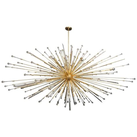 Chandelier Parts Nyc Custom Teardrop Sputnik Chandelier For Sale At 1stdibs