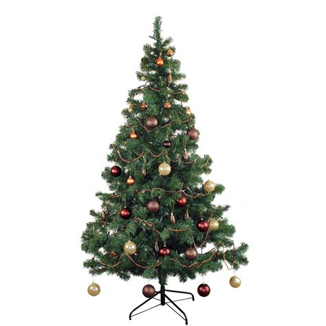 homegear aspen 6ft deluxe christmas tree xmas decoration