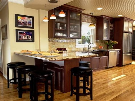 kitchen with island and breakfast bar best kitchen island ideas for small kitchens home design