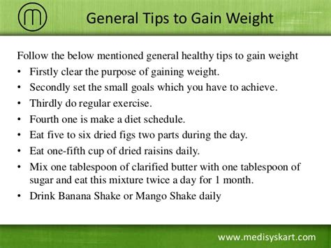 how to make your gain weight how to gain weight