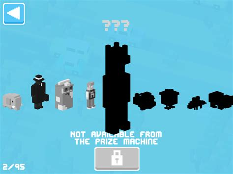 how to get all the road mystery characters cross y how to get every mystery character in crossy road cheats