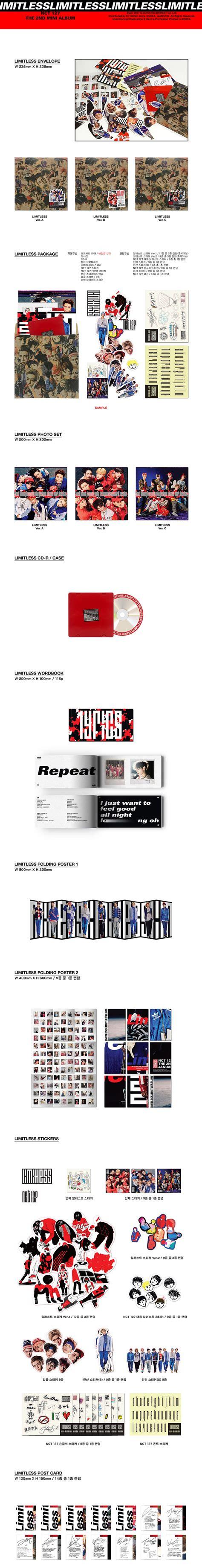 Casing Handphone Kpop Nct 127 The 2nd Mini Album Jaehyun nct 127 limitless 2nd mini album cd