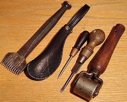 Handmade Leather Tools - leather tools