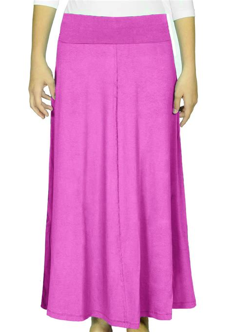 kosher casual s modest flowing maxi skirt ebay