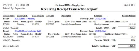 Transaction Receipt Template by Click On The Image To Enlarge View