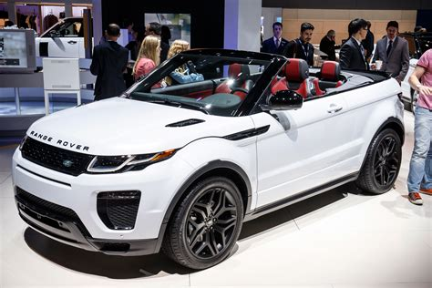 range rover convertible new 2016 range rover evoque convertible is here pics