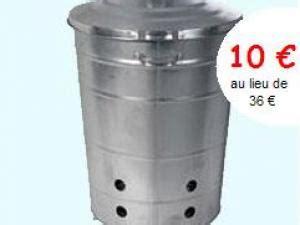 incin 233 rateur galvanis 233 pour d 233 chets de jardin de 80 litres