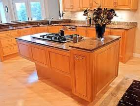 Permanent Kitchen Islands by Kitchen Cooking Islands Home Designs Project