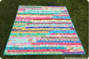 the crafty chemist the jelly roll race quilt