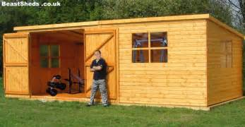 sheds garden gyms with free uk delivery and fitting