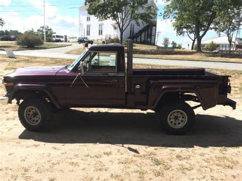 jeep stepside for sale jeep j 10 j10 j 10 stepside 4x4