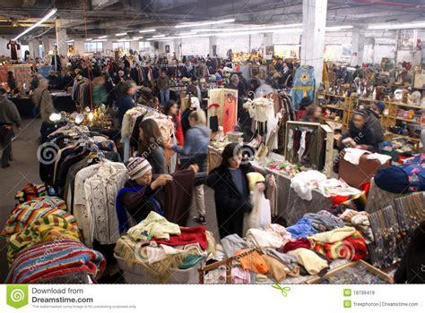 Garage Clothing Nyc Antiques Garage Flea Market In New York City Editorial