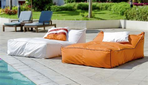 bean bag lounge chair outdoor secret blend outdoor bean bag lounger outside
