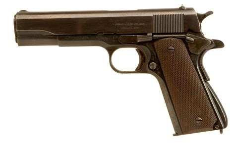 deactivated spec wwii ithaca colt 1911a1 allied