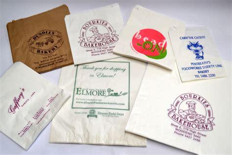Paper Bag Custom 19x27x9cm threlfall packaging 187 custom printed paper bags