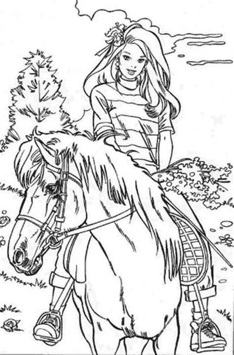 cutting horse coloring page kolorowanki dla dzieci oraz kolorowanki do druku z