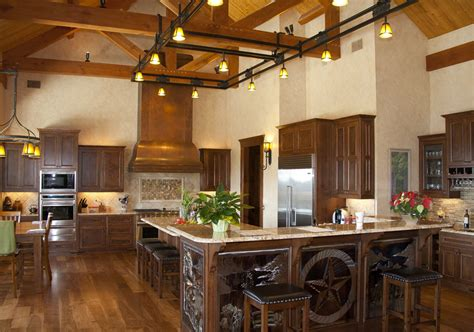 country home kitchen hill country home timber frame residential project