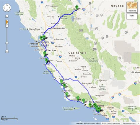 Map Of Pch - our cars 2013 mini cooper s coupe goes on vacation photo gallery motor trend