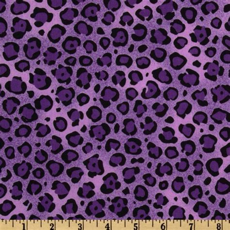 leopard print fabric animal print leopard purple black discount designer