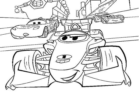 coloring pages cars 2 francesco disegno di cars 2 con francesco bernoulli la
