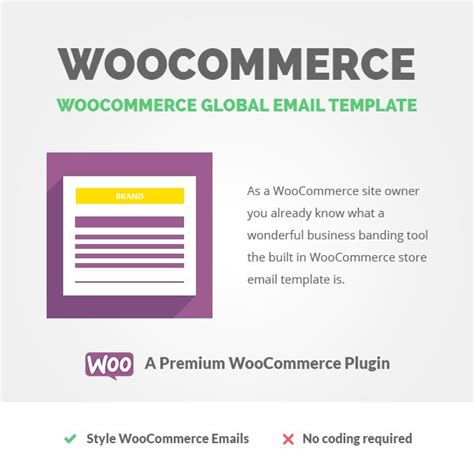 woocommerce global email template a3rev