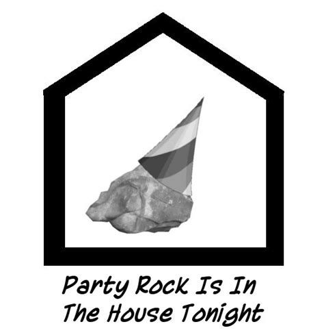 party rockers in the house tonight party rock is in the house tonight by branduboga on deviantart