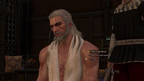 beard and hairstyles for geralt the witcher 3 wild hunt guide how to get hairstyles