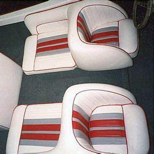 vintage back to back boat seats bellevue ski boat back to back seats upholstered in vinyl