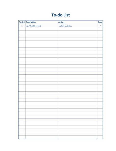 Printable Card List Template by Blank Checklist Template Mughals