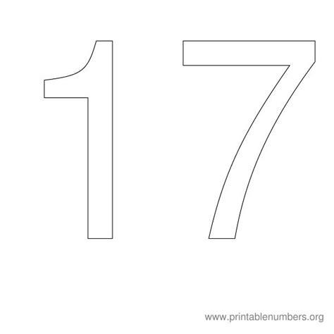 printable number stencils 1 20 printable numbers org