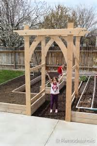 garden arch plans diy garden ideas garden arch and bench ideas for an