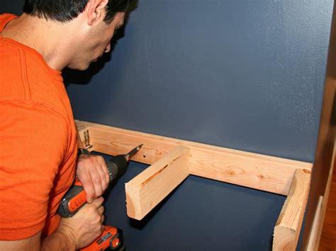 build  simple bar shelf  extra seating hgtv