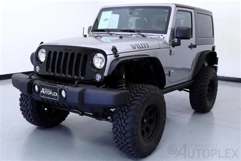 2015 jeep willys lifted 1c4gjwag4fl510790 15 jeep wrangler willy s wheeler 3