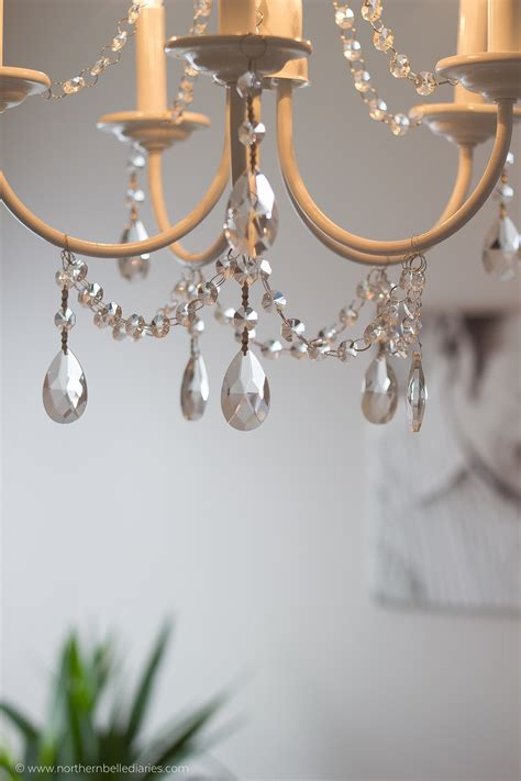 Diy Crystal Chandelier Easy Tutorial Easy Diy Chandelier