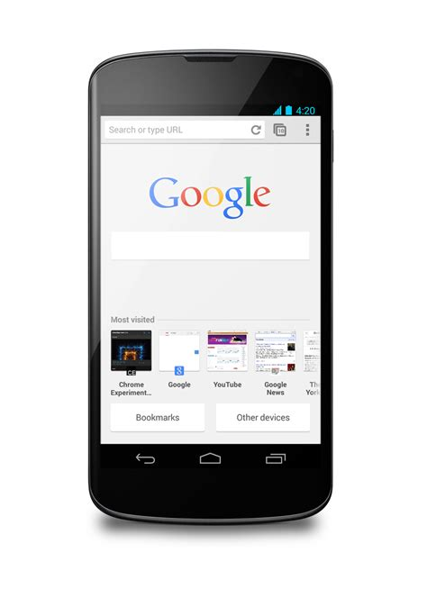 chrome beta android chrome 31 beta for android will bring the updated new tab page to everyone