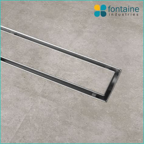 Shower Grate With Tile Insert 1000   Fontaine Industries