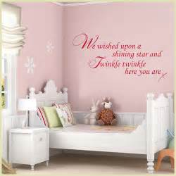 wall art for baby nursery star shape stickers