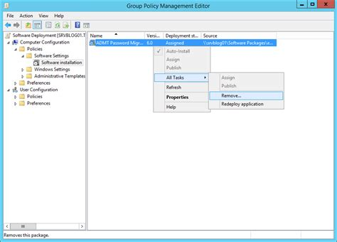 application letter for deployment program policy software deployment published assigned my