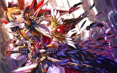 anime knight girl wallpaper anime knight wallpaper 22 easylife online com