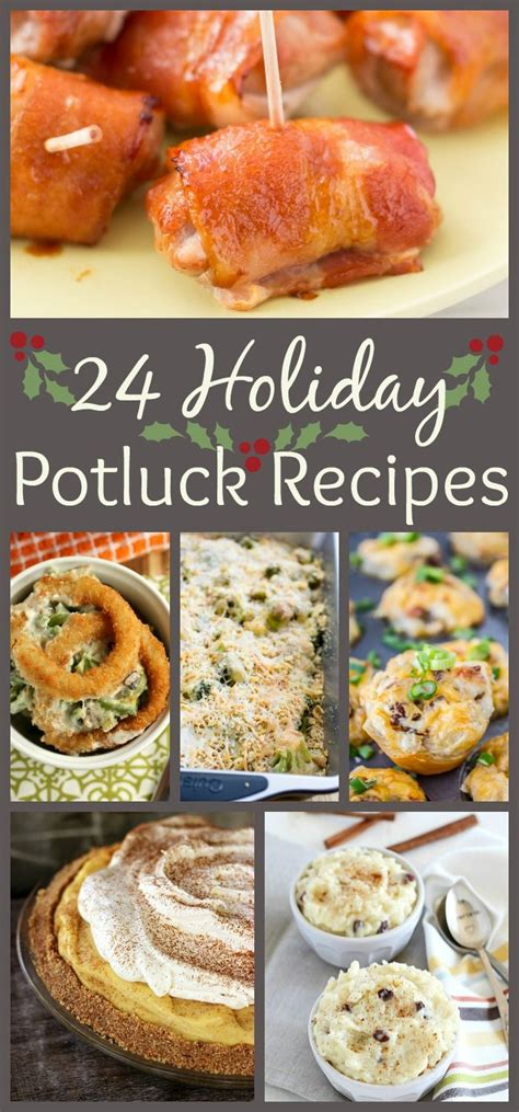24 holiday potluck recipes to wow the crowd dishes